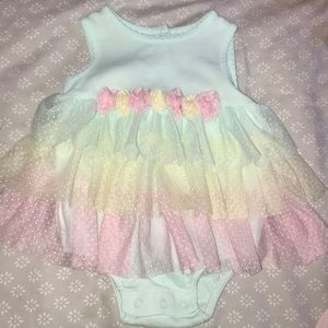 PERFECT CONDITION BABY GIRL DRESS!!!